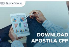 Download apostila CFP PDF: do planejamento financeiro à tributação