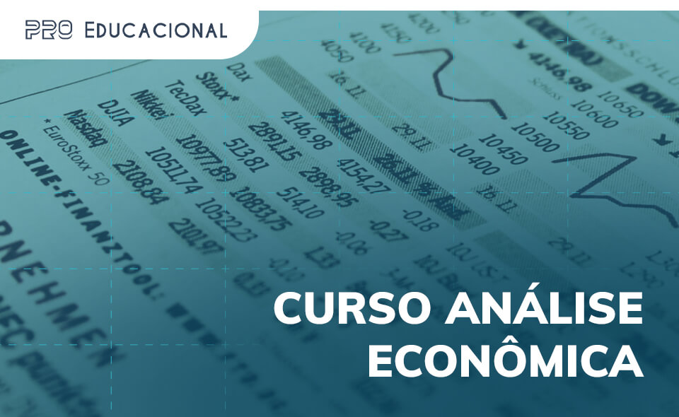 Imagem ilustrativa para o curso análise econômica
