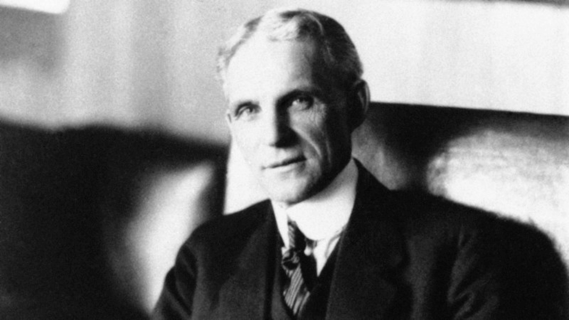 Um dos homens mais ricos da história Henry Ford
